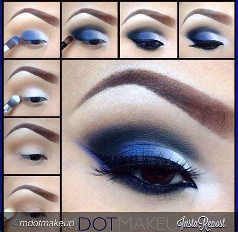 Tutorial Professional Makeup Techniques 4 by 25 Best Ideas About Blue Eyeshadow Makeup On