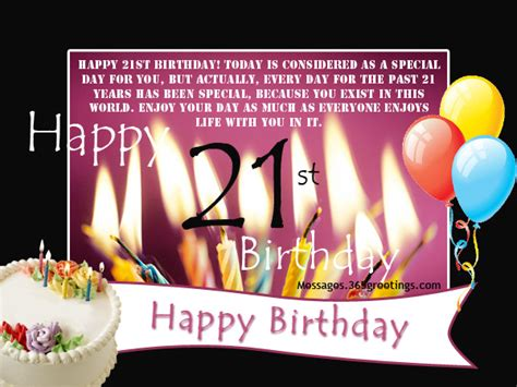 21st Birthday Quotes For Myself Happy 21st Birthday Wishes For Someone Special