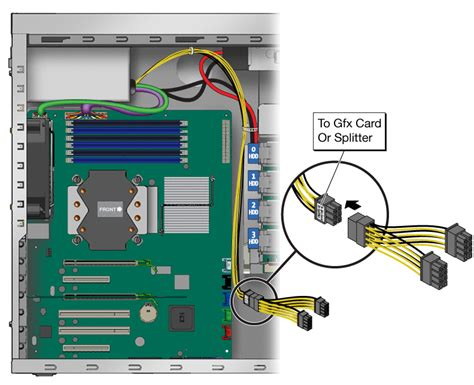 6 Pin Auxiliary Power Supply Connectors by Adding Supplemental Power To Pcie2 Cards Sun Ultra 27