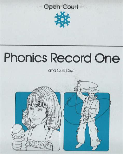 Open Court Records Open Court Phonics Program Original