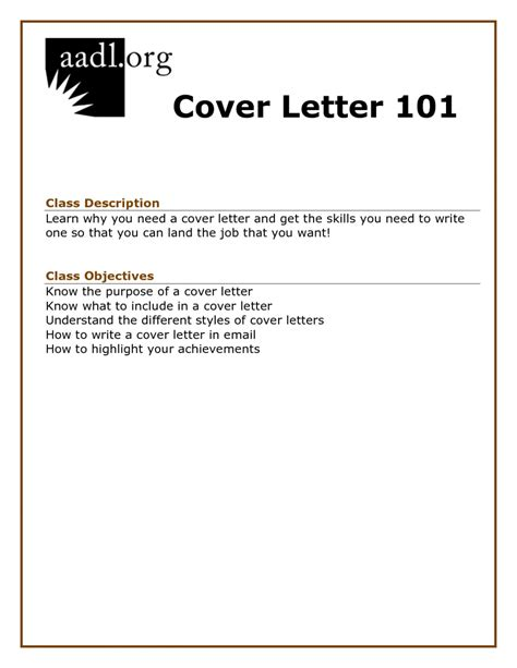 sle cover letter for applying a job