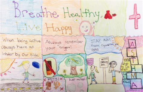asthma poster art contest albemarle regional health