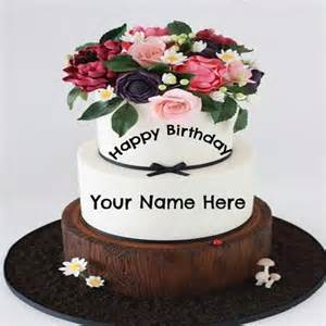 kuchen mit bild drauf write name on birthday cake for lover