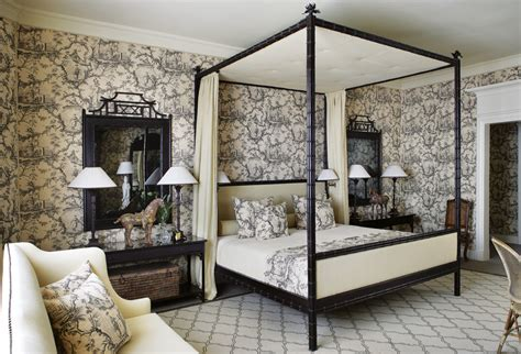 toile bedroom toile de jouy tells a story in your home