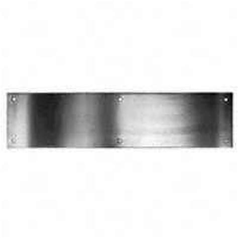 Interior Door Kick Plates Schlage C8400pa28 Kick Plate 30 In L X 6 In W For Use With Exterior Or Interior Door Surface