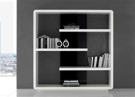Bookshelf Black And White Modern Bookcases For Modern Interior Home Furniture