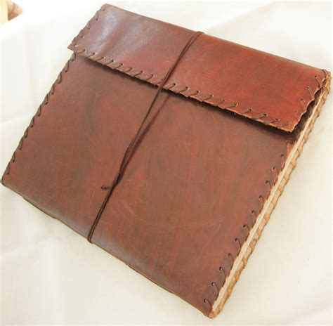 Handmade Paper Sketchbook - handmade paper large leather sketchbook journal blank
