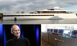 cruise boat jobs australia steve jobs yacht revealed 260 foot ship finished year