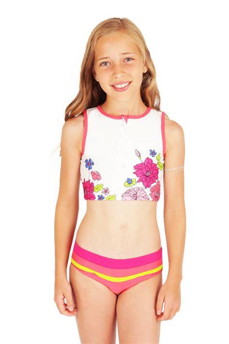 little lolitas in bathing suits tween girls swimwear dress images