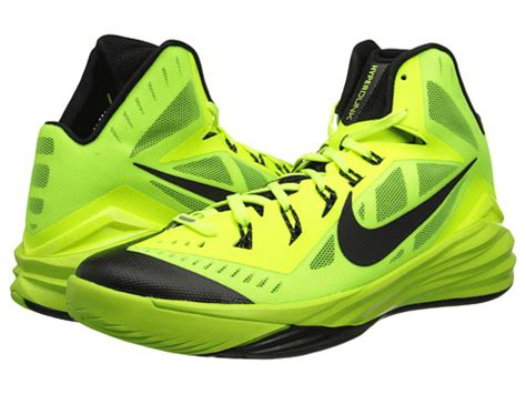 nike hyperdunk 2014 s athletic shoes volt black