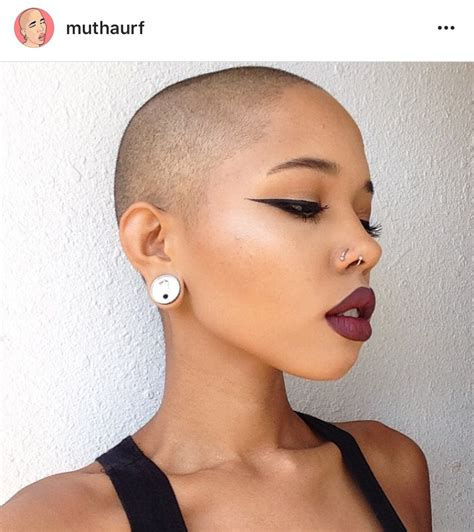 african american women with bald hair styles pin by nathalie tabares on beauty pinterest shaved