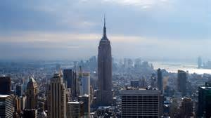 new york blue empire state building new york wallpapers 2048x1152