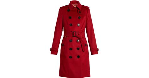 Exclusive To Matches Burberry Prorsum Trench Coat by Burberry Prorsum Sandringham Trench Coat In
