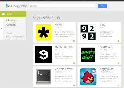 Play Store Website Play Store Website Krijgt Compleet Nieuwe Interface
