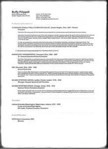 arts administration resume sles
