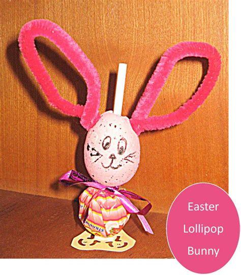 lollipop craft easter craft lollipop bunnies be a