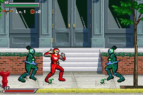 play power rangers ninja storm nintendo game boy advance