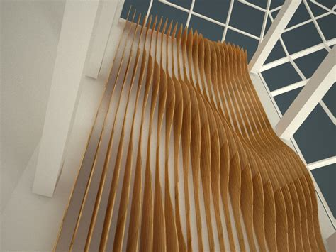 Wall Installation Fin Wall Installation For Office Lobby Timber From
