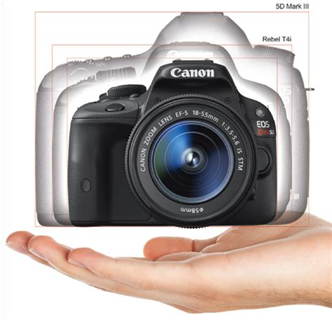 canon eos rebel sl1 dslr canon eos rebel sl1 the world s smallest and lightest dslr