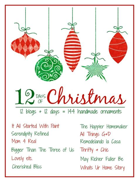 top 25 ideas about twelve days ornaments on pinterest 12 days of christmas ornament crafts 2014 it all