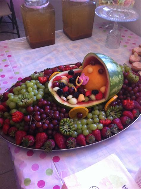 Baby Shower Tray Decoration by 107 Best Images About Fruit Tray Ideas On