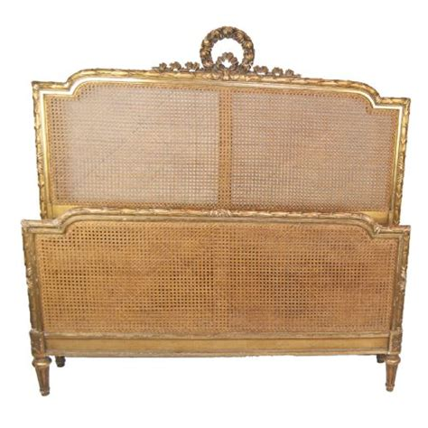 french cane bed stunning gilt and cane french bed circa 1890 200088