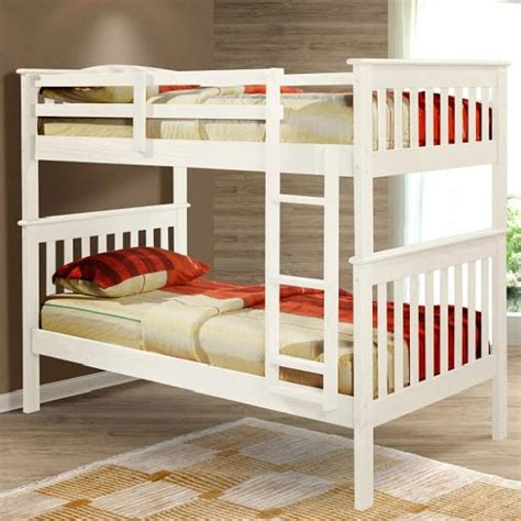 white twin bunk beds 301 moved permanently