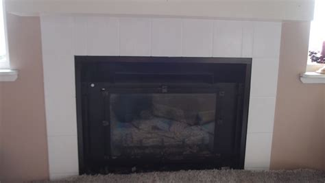 painting tile and other ways to save an fireplace