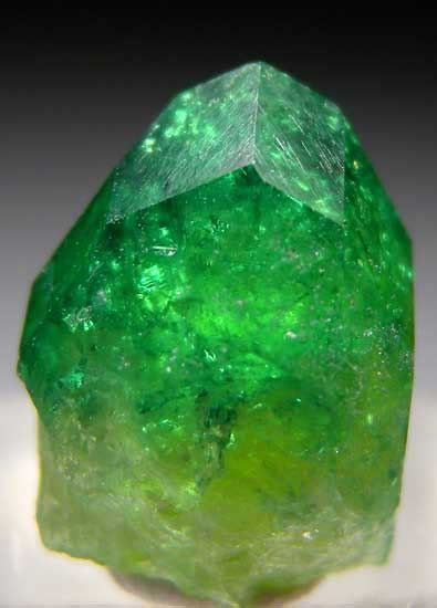 896 5 Ct Fluorite Memo chrome vesuvianite a vesuvianite with chromium replacing