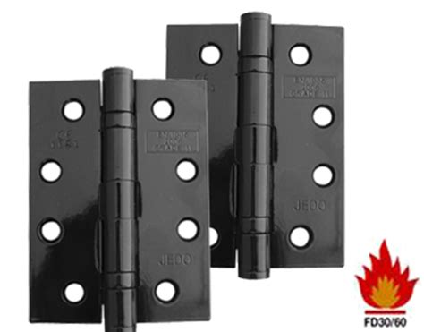 Black Door Knobs And Hinges by Frelan Hardware 3 Inch Bearing Hinges Black Finish
