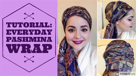 youtube tutorial pashmina tutorial everyday pashmina wrap youtube