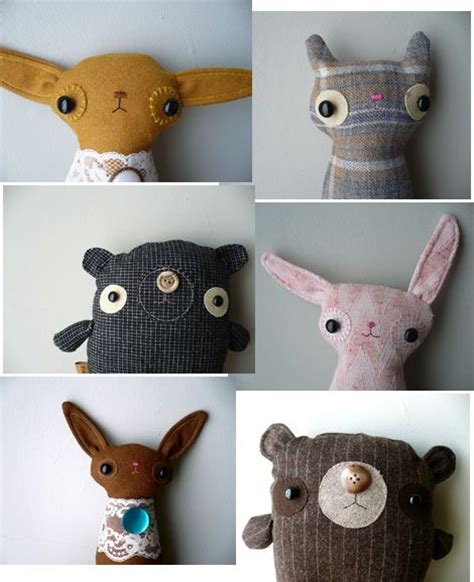 How To Make Handmade Soft Toys - 25 best stuffed animals ideas on