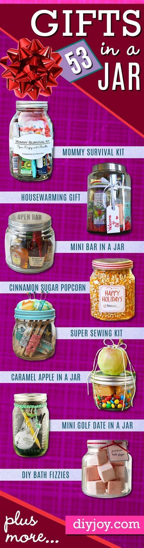 best diy gifts in a jar best jar cookie