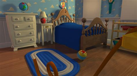toy story andys bedroom andy s room by gmcube on deviantart