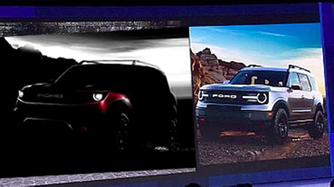 Ford Baby Bronco 2020 by 2020 Ford Baby Bronco Photos Revealed Automobile Magazine