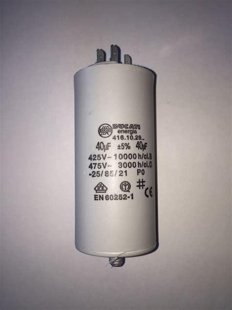 motor capacitors uk motor run capacitors 40uf