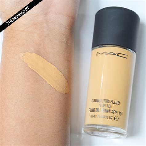 Mac Studio Fix Fluid Foundation mac studio fix fluid foundation nc 42 review the indian spot