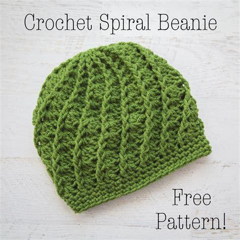 hat pattern pinterest free crochet pattern spiral crochet beanie adult crochet