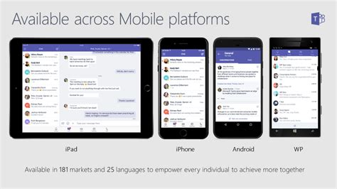 live login mobile mvp live collaborate on the go with microsoft teams