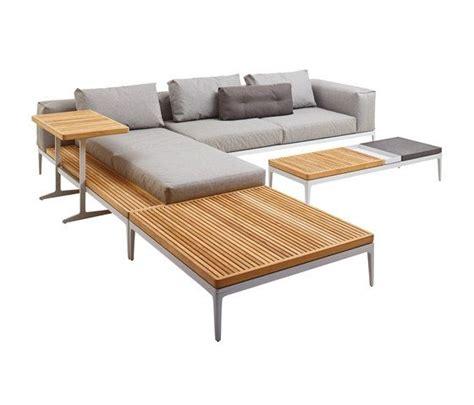 garten lounge sofa gartensofas garten lounge grid left end table unit