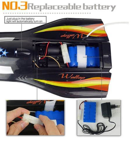 rc boat motors waterproof rc boat professional flying fishing boats 2 4ghz 3ch dual