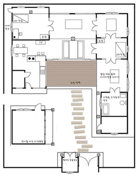 hanok house floor plan 한옥구조 한옥평면도