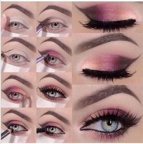 eyeshadow tutorial art glamour makeup with tutorial eyeshadow with 14 pretty pink