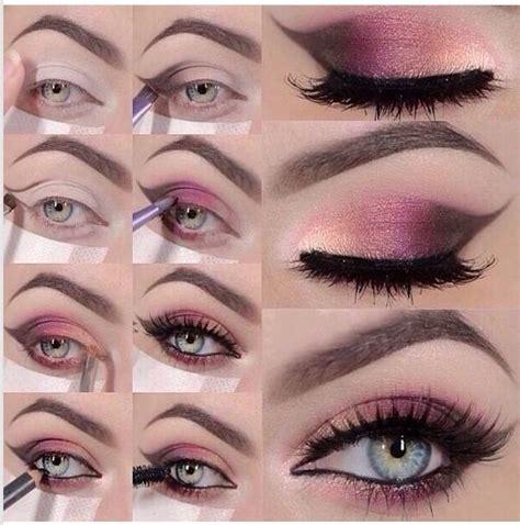 tutorial make up lipstik pink 14 pretty pink smokey eye makeup looks pretty designs