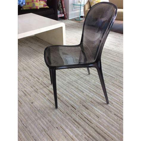 Kartell Dining Chair Grey Kartell Thalya Dining Chairs Set Of 5 Chairish