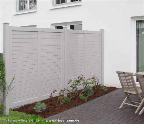 Sichtschutz Holz Weiss by Anspruchsvoller Sichtschutz F 252 R Ihre Terrasse Hartholz