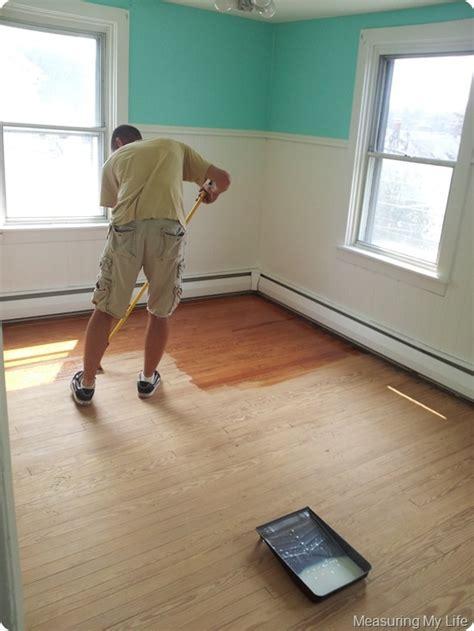 Diy Wood Floor Refinishing Diy Refinishing Hardwood Floors Diy Pinterest