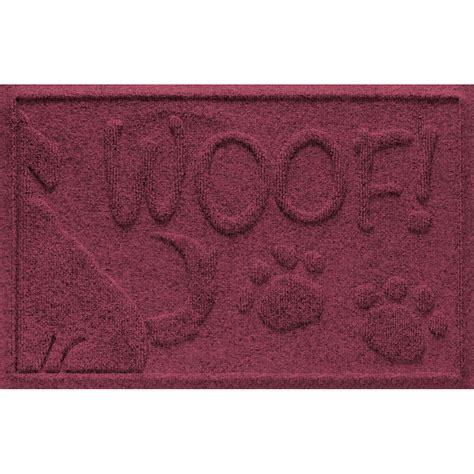 water guard mat woof in pet bowls