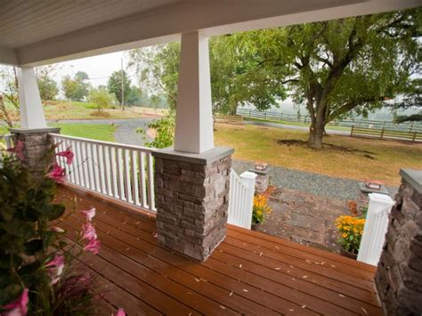 front porch pictures  blog cabin  diy network