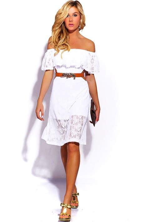 hairstyles for cut out dress 1015store com fashion style bright white lace ruffle